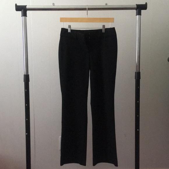 LOFT Pants - Loft Black Trousers in Julie Fit